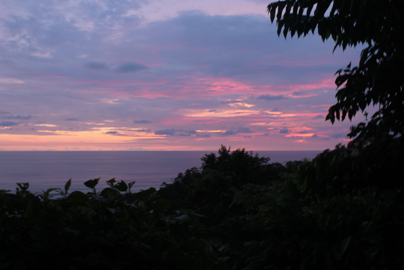 Costa Rica Sunset Cotton Candy Sky