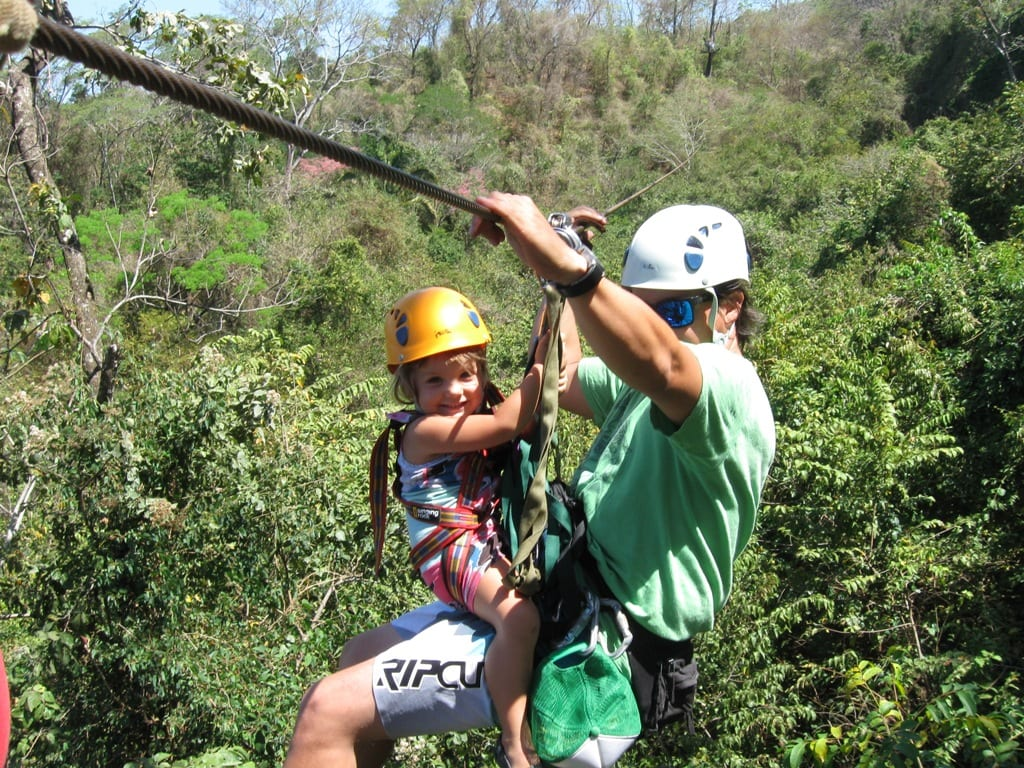 Canopy Tour Mal Pais in Costa Rica
