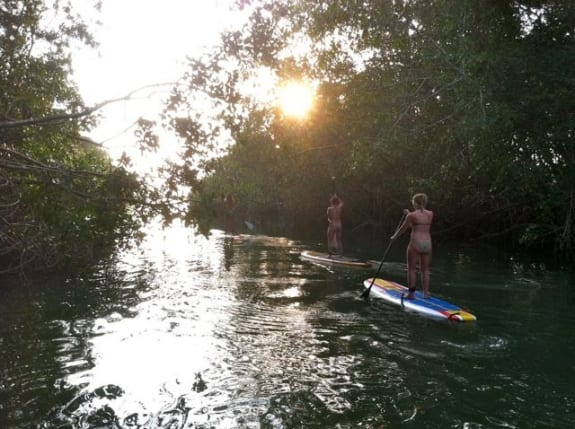 River Cruise SUP tour in Santa Teresa, Costa Rica
