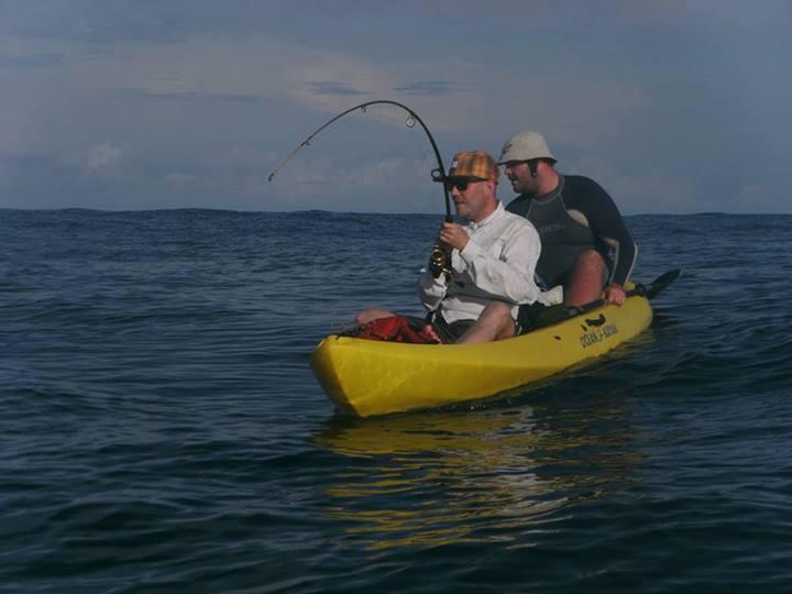 Fishing & sea kayaking in Mal Pais, Costa Rica