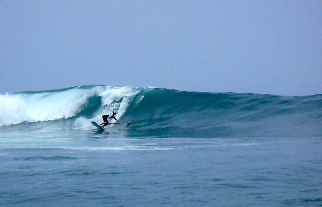 Intermediate and Expert Wave Riding Classes for SUP in Santa Teresa, Costa Rica