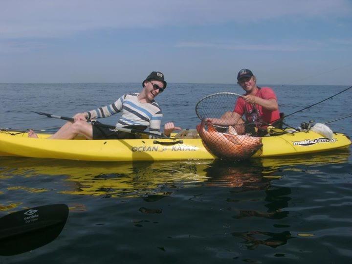 Sea kayak Fishing Adventure