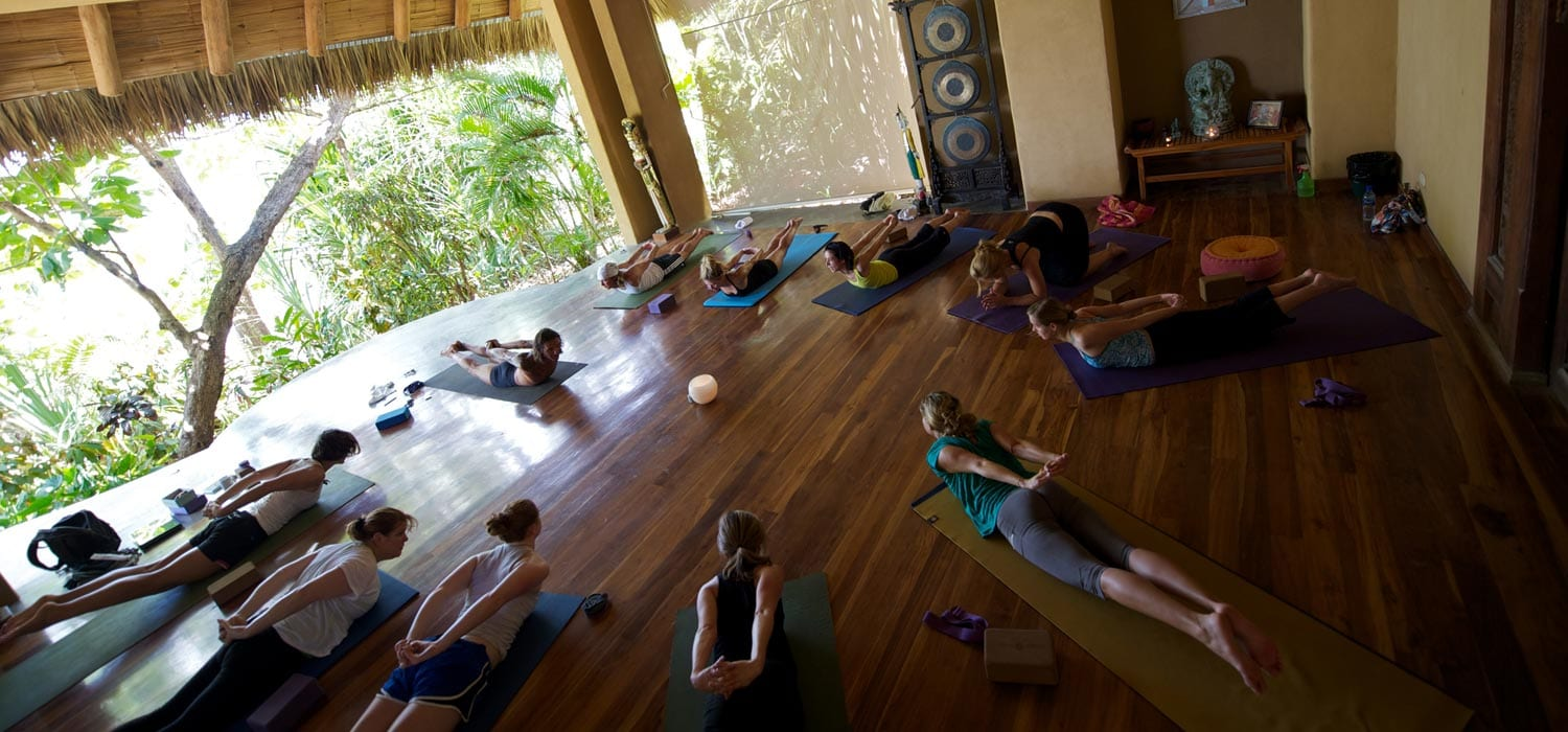 Yoga at our Partner Florblanca