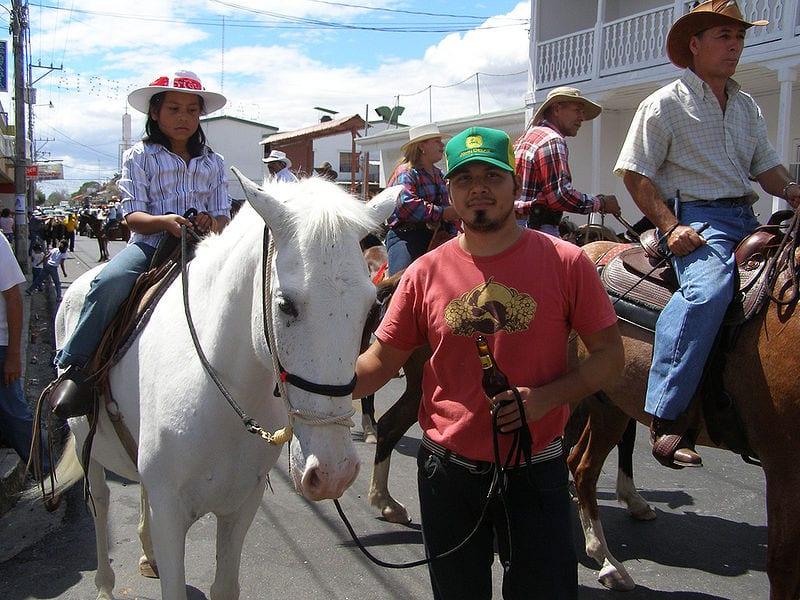 Costa Rica festival