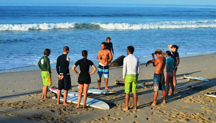 Surf Instructor Group Surf Lesson - Costa Rica