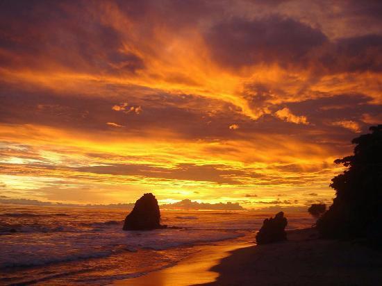 Playa Santa Teresa Beach Sunset
